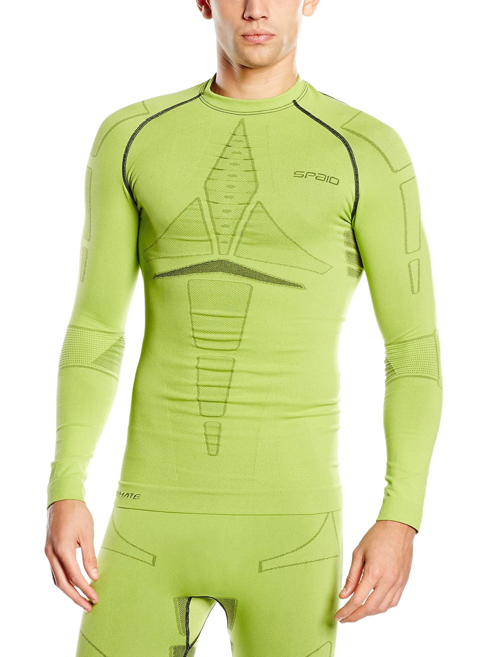SPAIO ® Herren Shirt Ultimate, Lime, L, 5901282032961