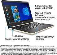 HP Laptop 14-dq1xxx + 10th-1035G4 Generation + 8 Processors (Intel Core i5, 10th-1035G4 Gen, 4 GB RAM DDR4/5, 128 GB SSD M.2