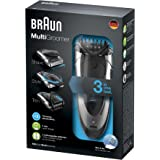 Braun MG5090 Wet & Dry Multi Groomer With 3 Comb Attachments + Charging Stand