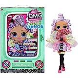 LOL Surprise OMG Dance Dance Dance Muñeca Miss Royale con 15 sorpresas, Ropa, Luz Negra Mágica, Accesorios de Moda, Zapatos,