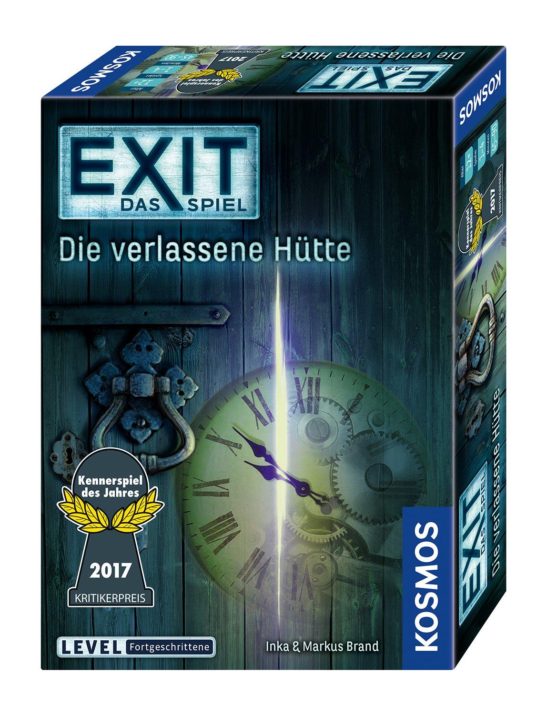 KOSMOS Spiele 692681 - EXIT - Das Spiel - Die verlassene Hütte, Die verlassene Hütte, Kennerspiel des Jahres 2017 14