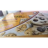 Just Go Eco Butter Paper/Bulk Parchment Paper for Sandwich,Food Wrapping,Cake etc 100 Sheets(Pack of 1) Size-9 x 10…
