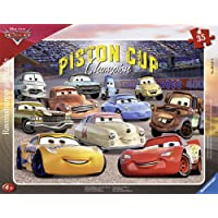 Ravensburger- Pixar Cars 3 Puzzle Cadre Les Amis de Flash Cars3 35 pièces, 06157