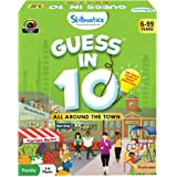 Skillmatics Educational Game: All Around the Town - Guess In 10 (Ages 6-99 Years) | Card Game of Questions | General Knowledg