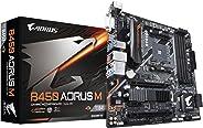 GIGABYTE GIGABYTE B450 AORUS M (AMD Ryzen AM4/M.2 Thermal Guard/HDMI/DVI/USB 3.1 Gen 2/DDR4/Micro ATX/Motherboard)