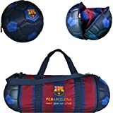 Official FC Barcelona Duffel Bag for Sports/Soccer – Foldable/Extendable