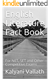 English Literature Fact Book: For NET, SET and Other Competitive Exams
