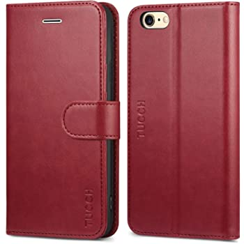 size 40 79ff7 d0f54 Snugg iPhone 6 Case - Leather Flip Case with Lifetime: Amazon.co.uk ...