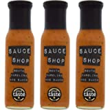 Sauce Shop - South Carolina BBQ Sauce, 3 Bottles, Award-Winning, Tangy American Mustard, All Purpose Barbecue Sauce…