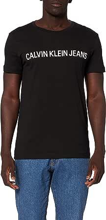 Calvin Klein Core Institutional Logo Slim Tee Maglietta Uomo