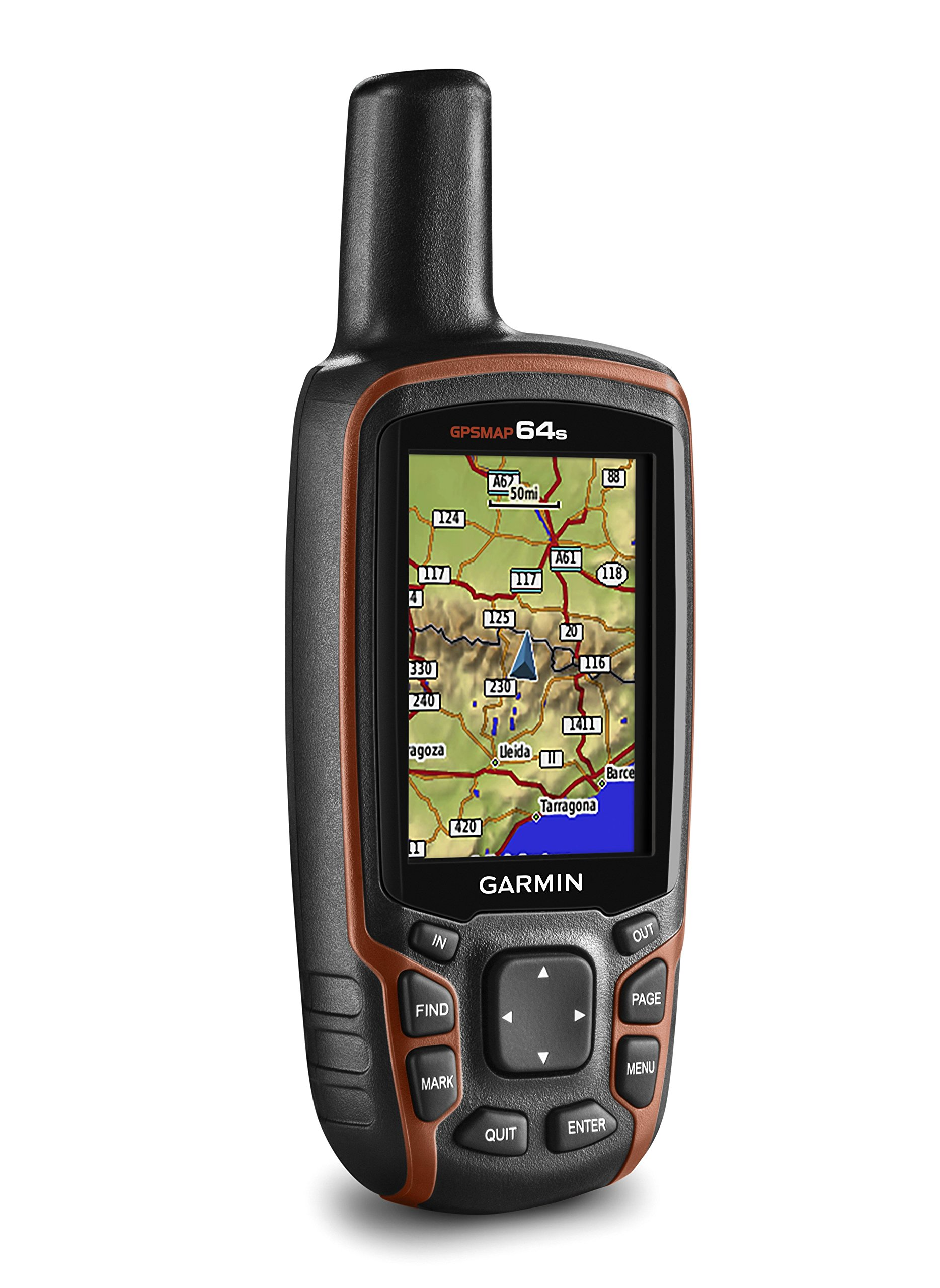 Garmin GPSMAP 64s Handheld Navigator,Black/Red 8