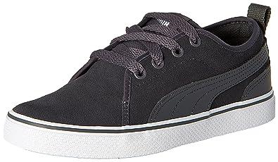 7a4dd8e4f678 Puma Women s S Street Vulc Asphalt Leather Sneakers - 3 UK India (35.5 EU