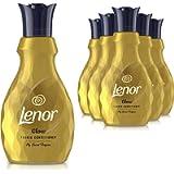 LENOR Secrets Fabric Conditioner, Washing Liquid Laundry, 216 Washes, 5.4 Litres (900 ml x 6), Glow