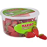HARIBO Giant Strawberry Bulk Sweets, 1 kg