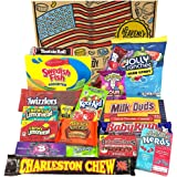 Heavenly Sweets® American Candy and Chocolate Gift Box - Classic Retro USA Treats - Perfect Gift Hamper for Children, Adults,