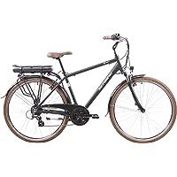 F.lli Schiano Men's E-Ride E-Bike, Schwarz, 48cm