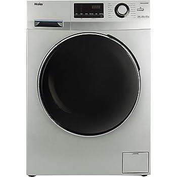 Haier 6.5 kg Fully-Automatic Front Loading Washing Machine (HW65-B10636NZP, Titanium Grey)
