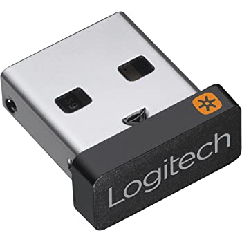 Logitech Unifying - Receptor inalámbrico para Ratones y teclados Logitech, Conecta hasta 6 Dispositivos,