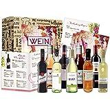 Wein Geschenk Set (9 x 0,25l) | besonderes Weingeschenk Box ausgefallene Geschenkidee für Frauen Männer Freund Freundin…