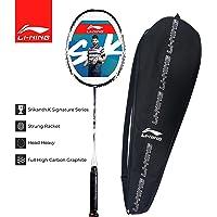 Li-Ning SK Srikanth Kidambi Signature Light Weight Strung Badminton Racquet - with Full Cover