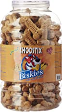 Choostix Biskies Real Chicken Dog Treat, 1 kg (Jar)