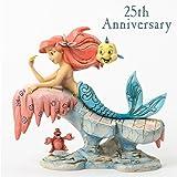 """Disney Traditions, Figura de Ariel, Sebastián y Flounders de """"La Sirenita"""", para coleccionar, Enesco"""