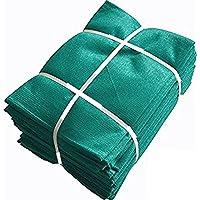 Sun Shade Net Protected Green House Netting Multipurpose Net (16 Ft, Green)