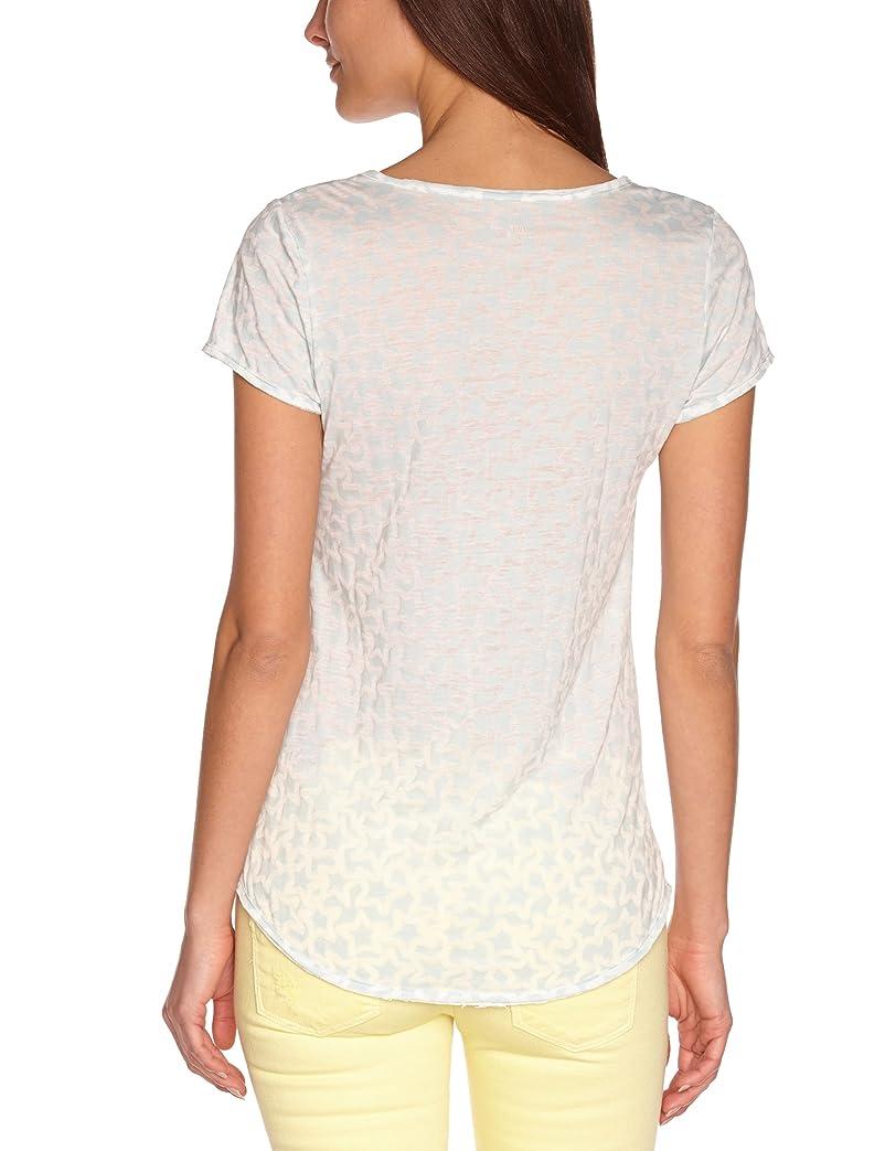 Shoppen Sie Freesoul Damen T-Shirt P71321 Hemdbluse, Asymmetrisch Regular  Fit auf Amazon.de:T-Shirts