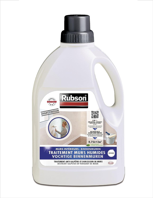 Rubson 1800225 bidon de peinture pour traitement de murs humides intérieurs 075 l amazon fr bricolage
