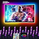 Smart LED Strip 3M, Maxcio USB Alexa TV-achtergrondverlichting LED-strip, compatibel met Alexa Echo, Google Home, WIFI RGB TV