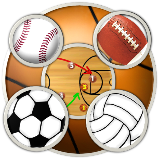 & Scoreboard (basketball, football, baseball, soccer, volleyball, ice hockey) for Kindle, Tablet, & Phone (Clipboard Basketball)