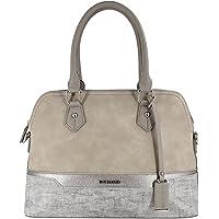 David Jones - Borsa a Mano Donna Bugatti - Satchel Tote Shopper Bag a Tracolla Spalla Elegante - Patchwork Multicolore…