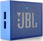 JBL GO Portable Wireless Bluetooth Speaker with Mic (Blue)