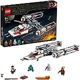 LEGO 75249 Star Wars Resistance Y-Wing Starfighter Byggsats med Rymskepp Byggklossar med Minifigurer