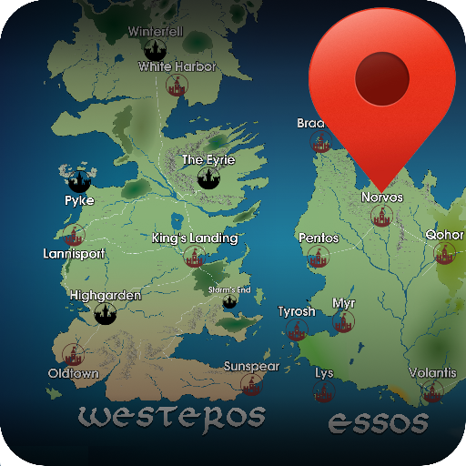 got karte GoT Map: Amazon.co.uk: Appstore for Android