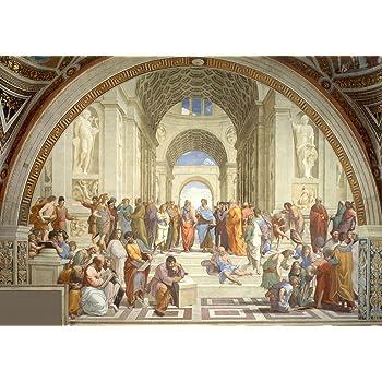 Raphael: The School of Athens. Fine Art Print/Poster. Size A2 (59.4cm x 42cm)