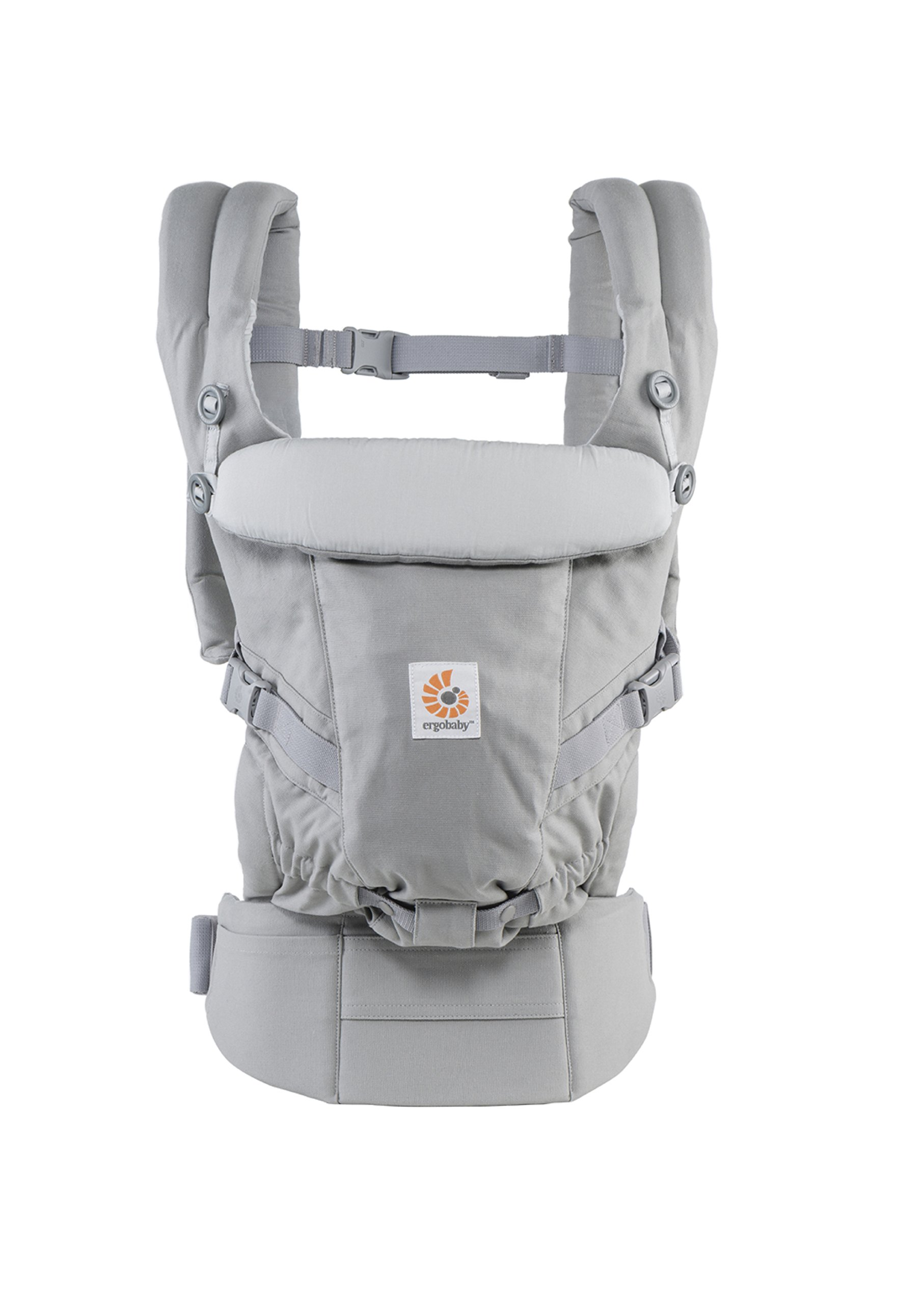 ErgoBaby Adapt Baby Carrier Grey Ergobaby Adapt to Every Baby Easy. Adjustable. Newborn to toddler. 1