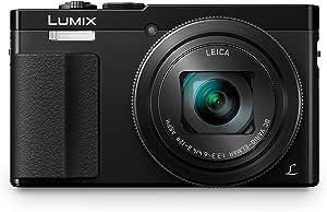 Panasonic DMC-TZ71EG-K Lumix Kompaktkamera (12,1 Megapixel, 30-fach opt. Zoom, 7,6 cm (3 Zoll) LCD-Display, Full HD, WiFi, USB 2.0) schwarz
