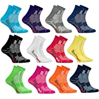 Rainbow Socks - Boys Girls Colourful Cotton Sneaker Sport Socks