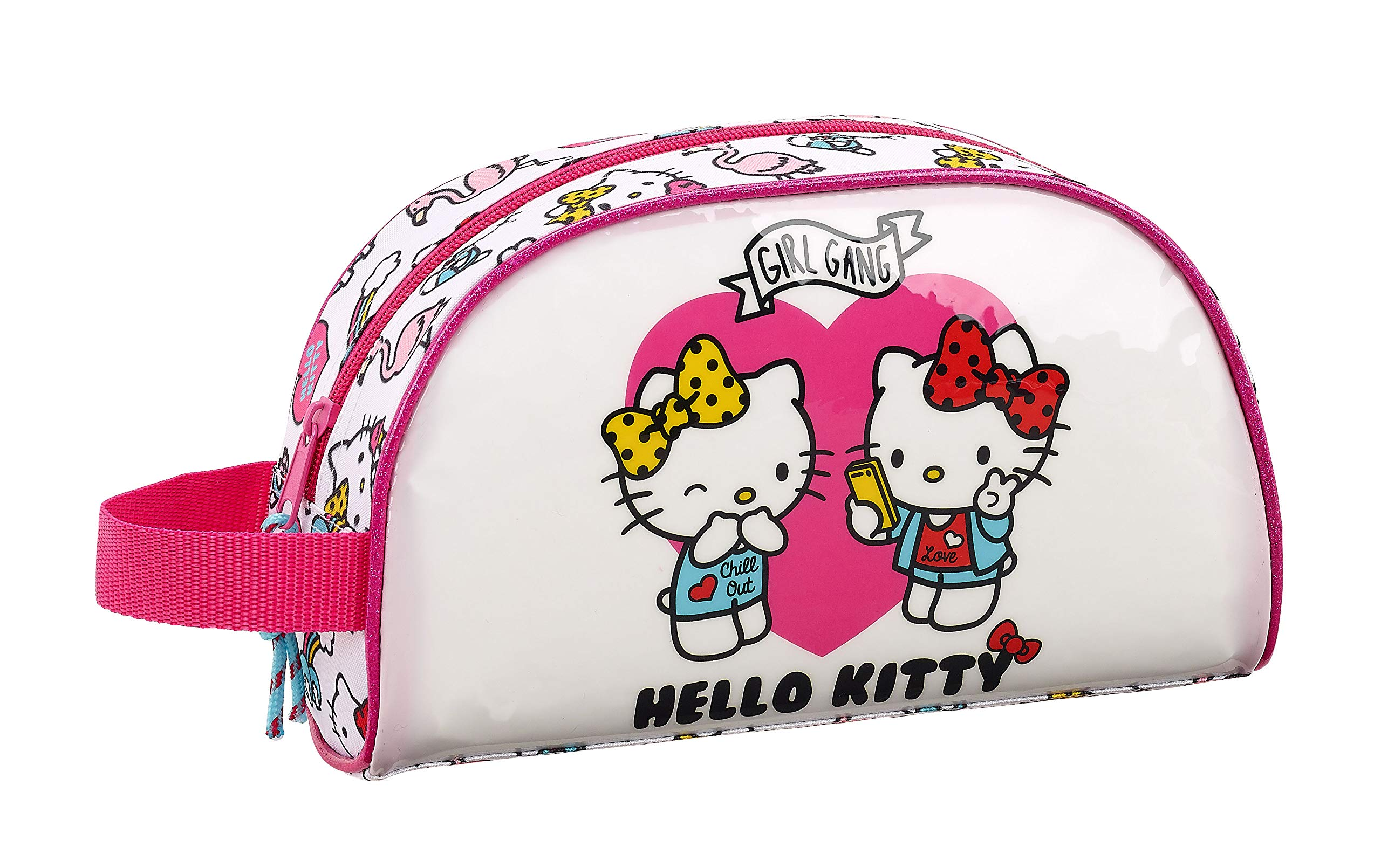 Hello Kitty Neceser, Bolsa de Aseo Adaptable a Carro