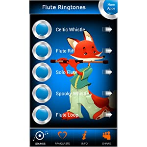 Flute Ringtones: Amazon co uk: Appstore for Android