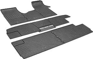 Gummimatten Fußmatten Gummifußmatten Rigum Geeignet Für Opel Vivaro B 8 9 Sitzer 2014 2019 L1 Perfekt Angepasst Extra Auto Duft Auto