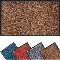 Mibao Dirt Trapper Door Mat for Indoor&outdoor, 40x60cm, Brown Black Doormat, Washable Barrier Door Mat, Heavy Duty Non…