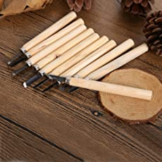 Pindia Wood Carving Chisel Knife For Basic WoodCut Working DIY Hand Tool
