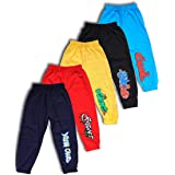 T2F Boy's Regular Fit Track Pant (Pack of 5)