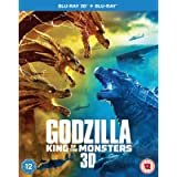 Godzilla: King of the Monsters [Blu-ray 3D] [2019]
