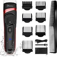 HATTEKER Haarschneidemaschine für Männer Schnurloser Haarschneider Professioneller Bartschneider für Männer…