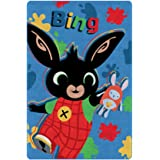 Characters Cartoons - Plaid in Pile 100x140 cm - Full Print - Bambini e Bambine (Bing Blu 1227)
