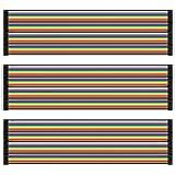 AZDelivery Jumper Wire Cables de Puente 20 cm 3 x 40 pcs cada uno Macho-Hembra/Macho-Macho/Hembra-Hembra compatible con Ardui
