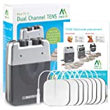 Med-Fit 1 Dual Channel TENS Machine Unit for Pain Relief and Pain Management Therapy, Ideal for Back, Knee, Sciatica, Arthrit